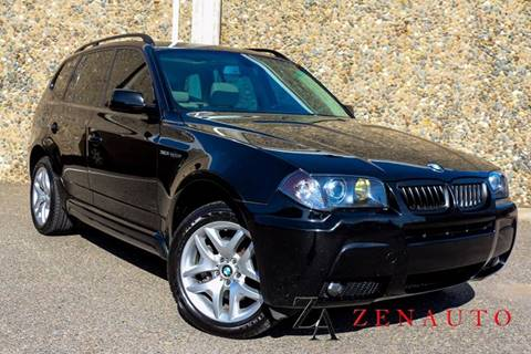 2006 BMW X3 for sale at Zen Auto Sales in Sacramento CA