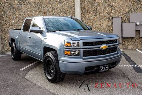 2015 Chevrolet Silverado 1500 for sale at Zen Auto Sales in Sacramento CA