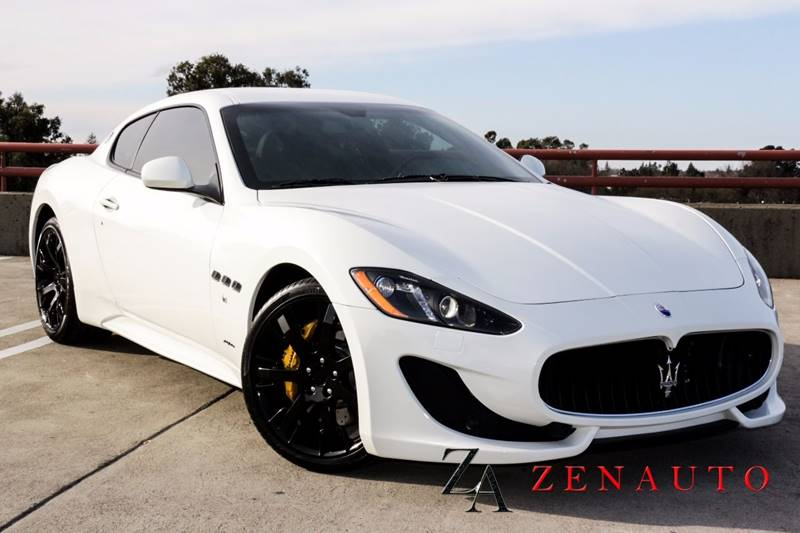 2016 maserati granturismo sport 2dr coupe in sacramento ca. Black Bedroom Furniture Sets. Home Design Ideas