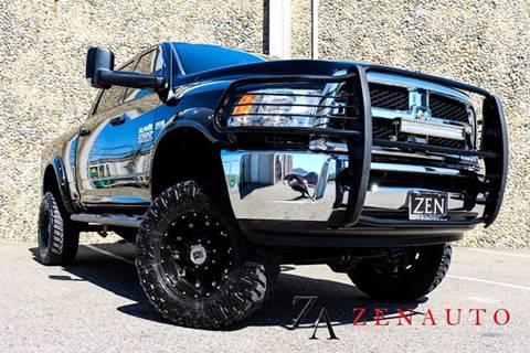 2013 RAM Ram Pickup 2500 for sale at Zen Auto Sales in Sacramento CA