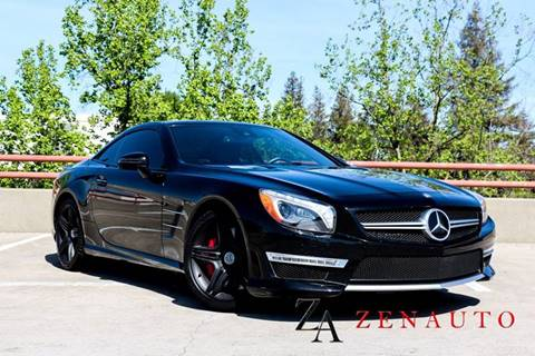 2013 Mercedes-Benz SL-Class for sale at Zen Auto Sales in Sacramento CA