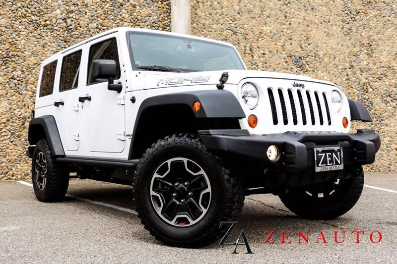 2013 Jeep Wrangler Unlimited 4x4 Moab 4dr SUV   Sacramento CA