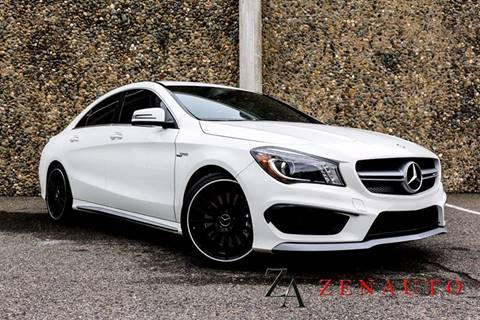2015 Mercedes-Benz CLA for sale at Zen Auto Sales in Sacramento CA