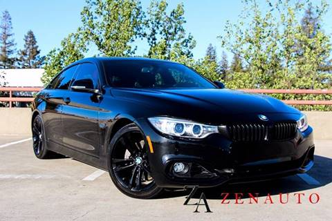 2015 BMW 4 Series for sale at Zen Auto Sales in Sacramento CA