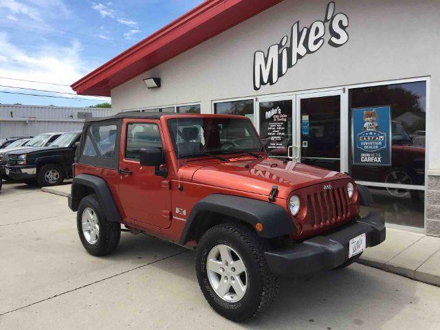 2009 Jeep Wrangler for sale at Mike`s Auto Sales in Columbus NE