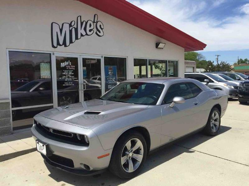 2016 Dodge Challenger for sale at Mike`s Auto Sales in Columbus NE