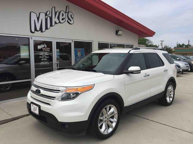 2013 Ford Explorer for sale at Mike`s Auto Sales in Columbus NE