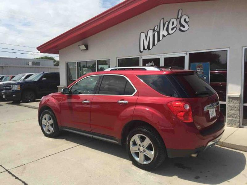 2014 Chevrolet Equinox for sale at Mike`s Auto Sales in Columbus NE