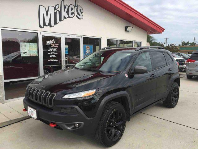 2014 Jeep Cherokee for sale at Mike`s Auto Sales in Columbus NE
