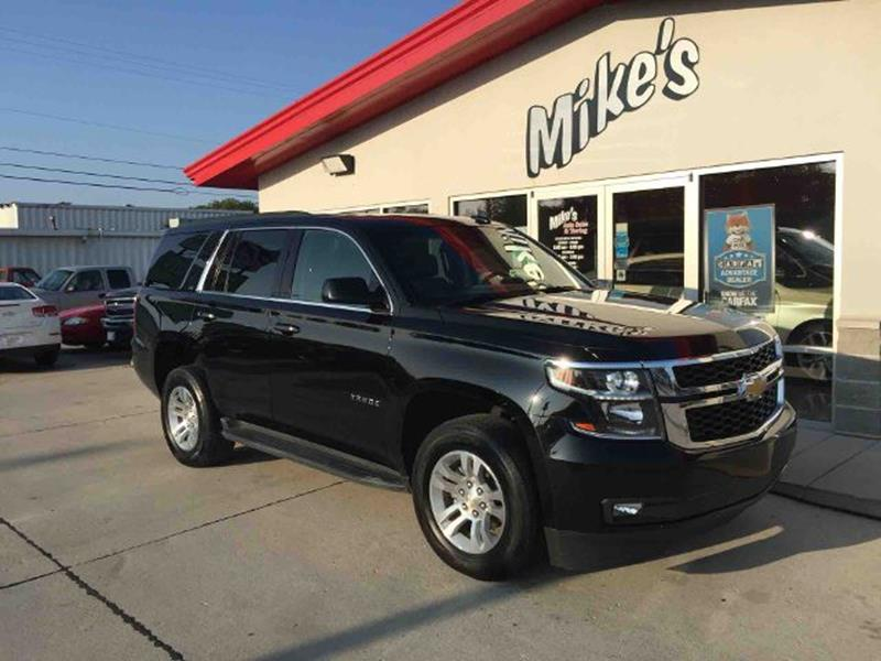 2016 Chevrolet Tahoe for sale at Mike`s Auto Sales in Columbus NE