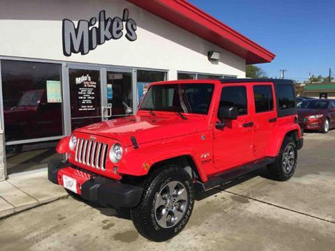 2017 Jeep Wrangler Unlimited for sale in Columbus, NE