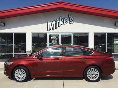 2014 Ford Fusion Hybrid for sale at Mike`s Auto Sales in Columbus NE