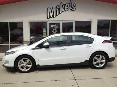 2012 Chevrolet Volt for sale at Mike`s Auto Sales in Columbus NE