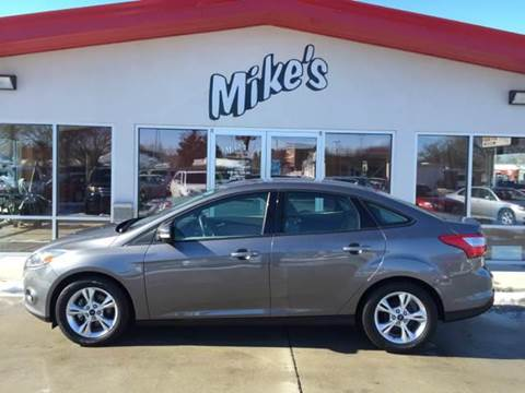 2014 Ford Focus for sale at Mike`s Auto Sales in Columbus NE