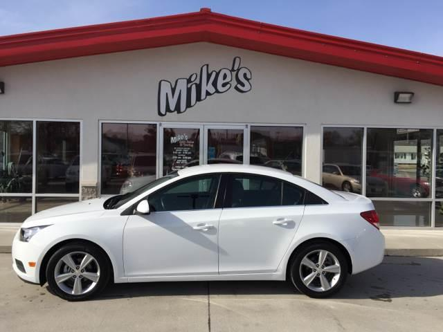 2014 Chevrolet Cruze for sale at Mike`s Auto Sales in Columbus NE