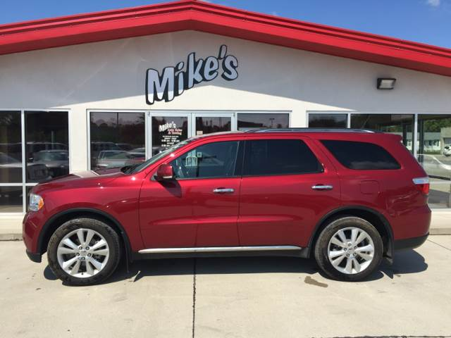 2013 Dodge Durango for sale at Mike`s Auto Sales in Columbus NE