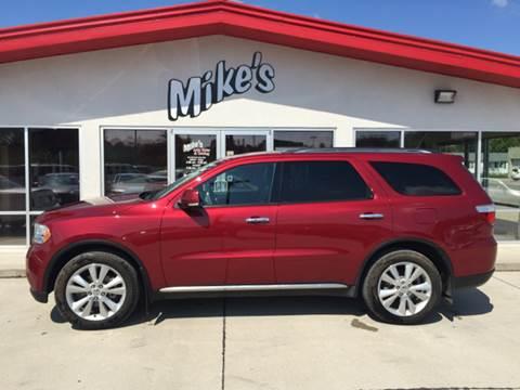 2013 Dodge Durango for sale at Mike`s Auto Sales in Columbus NE