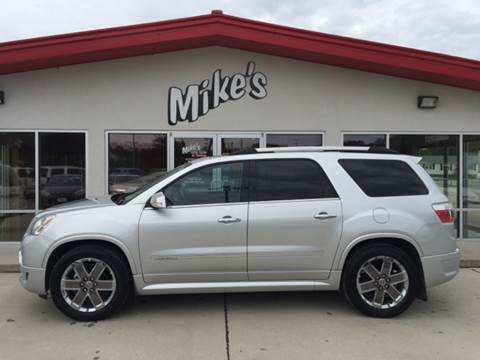 2012 GMC Acadia for sale at Mike`s Auto Sales in Columbus NE