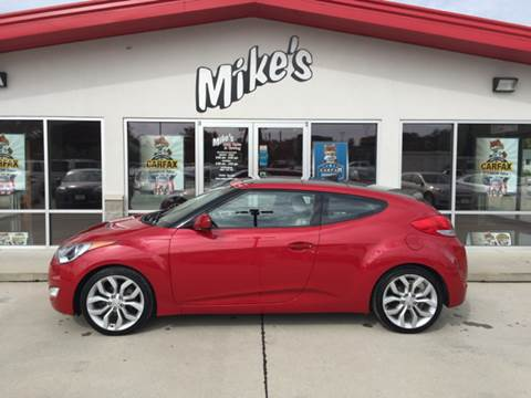 2012 Hyundai Veloster for sale at Mike`s Auto Sales in Columbus NE