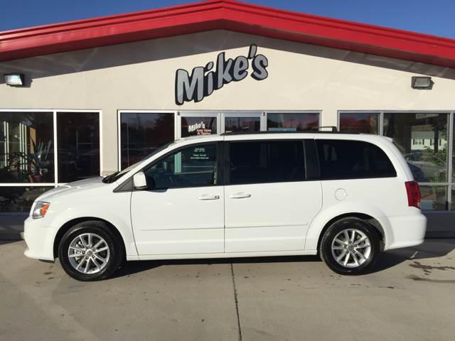 2016 Dodge Grand Caravan for sale at Mike`s Auto Sales in Columbus NE