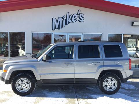 2016 Jeep Patriot for sale at Mike`s Auto Sales in Columbus NE