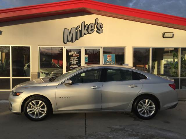 2016 Chevrolet Malibu for sale at Mike`s Auto Sales in Columbus NE