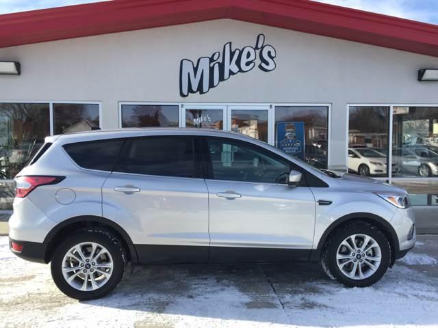 2017 Ford Escape for sale at Mike`s Auto Sales in Columbus NE
