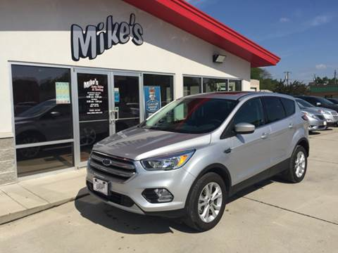 2017 Ford Escape for sale at Mike`s Auto Sales in Columbus NE