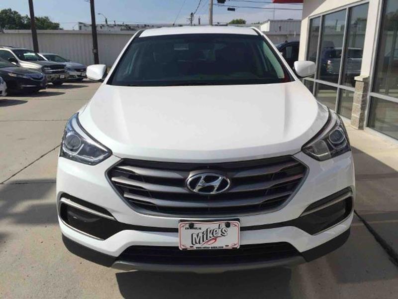 2017 Hyundai Santa Fe Sport for sale at Mike`s Auto Sales in Columbus NE
