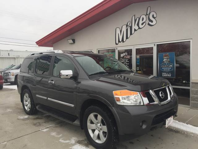 2011 Nissan Armada for sale at Mike`s Auto Sales in Columbus NE
