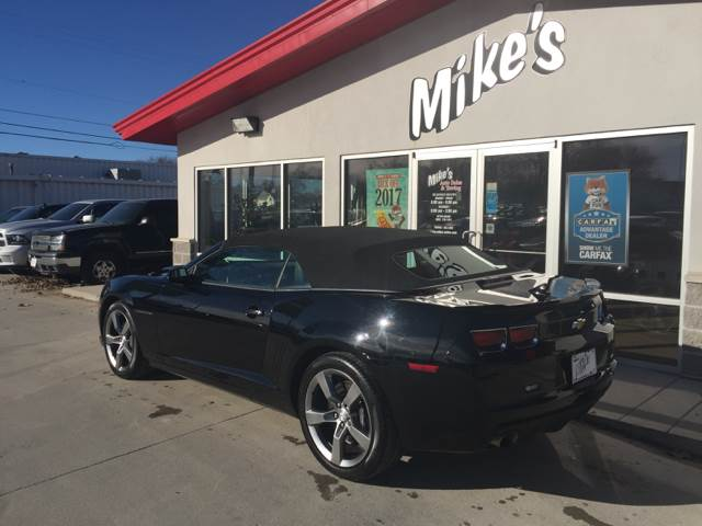 2012 Chevrolet Camaro for sale at Mike`s Auto Sales in Columbus NE