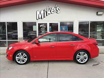 2016 Chevrolet Cruze Limited for sale at Mike`s Auto Sales in Columbus NE