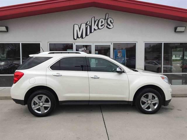 2015 Chevrolet Equinox for sale at Mike`s Auto Sales in Columbus NE