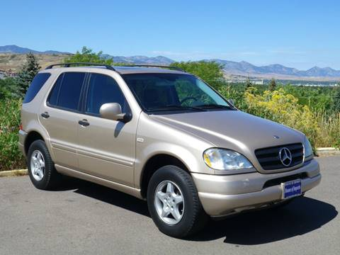 2001 Mercedes-Benz M-Class ML 320 for sale at House Of Imports in Lakewood CO