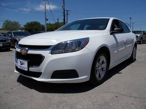 2015 Chevrolet Malibu for sale at Carz Of Texas Auto Sales in San Antonio TX