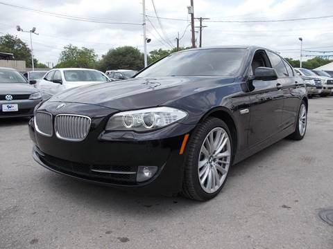 2011 BMW 5 Series for sale at Carz Of Texas Auto Sales in San Antonio TX