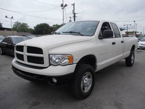 2004 Dodge Ram Pickup 2500 for sale at Carz Of Texas Auto Sales in San Antonio TX