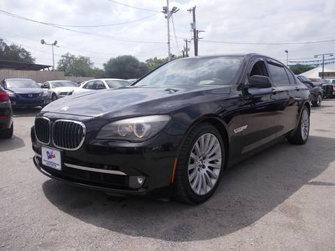 2009 BMW 7 Series for sale at Carz Of Texas Auto Sales in San Antonio TX