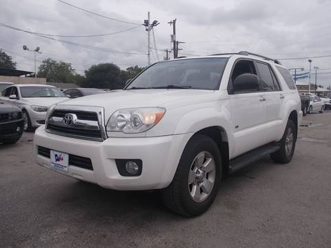 2006 Toyota 4Runner for sale at Carz Of Texas Auto Sales in San Antonio TX