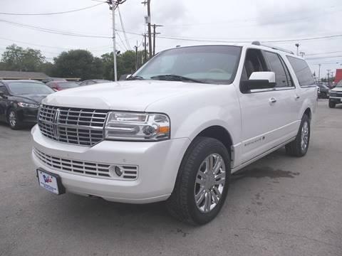 2010 Lincoln Navigator L for sale at Carz Of Texas Auto Sales in San Antonio TX