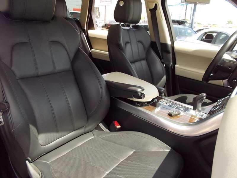 2014 Land Rover Range Rover Sport for sale at Carz Of Texas Auto Sales in San Antonio TX