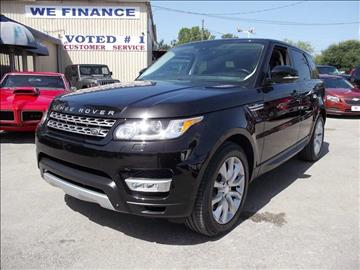 2014 Land Rover Range Rover Sport for sale at Carz Of Texas Auto Sales in San Antonio TX