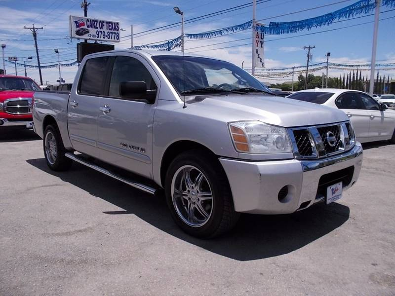 2007 Nissan Titan for sale at Carz Of Texas Auto Sales in San Antonio TX