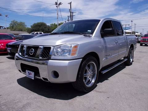 2007 Nissan Titan for sale at Carz Of Texas Auto Sales in San Antonio TX