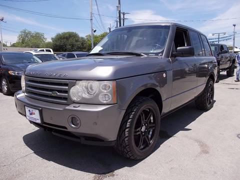 2008 Land Rover Range Rover for sale at Carz Of Texas Auto Sales in San Antonio TX