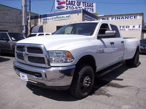 2014 RAM Ram Pickup 3500 for sale at Carz Of Texas Auto Sales in San Antonio TX