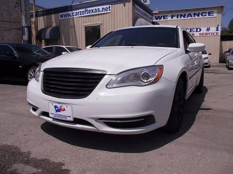 2014 Chrysler 200 for sale at Carz Of Texas Auto Sales in San Antonio TX