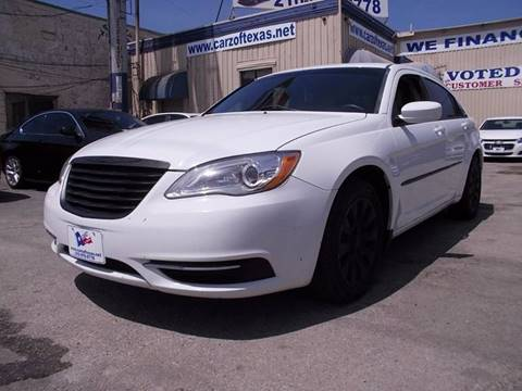 2014 Chrysler 200 for sale at Carz Of Texas Auto Sales in San Antonio TX