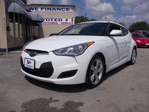 2012 Hyundai Veloster for sale at Carz Of Texas Auto Sales in San Antonio TX