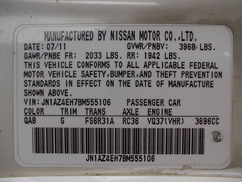 2011 Nissan 370Z for sale at Carz Of Texas Auto Sales in San Antonio TX
